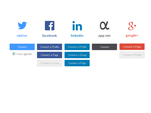 Bufferapp y Linkedin en Social Media