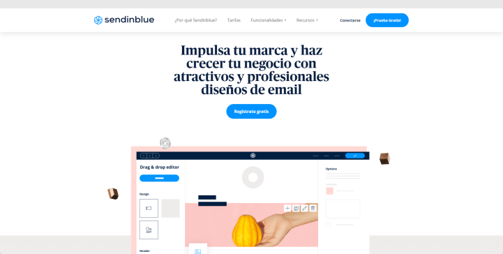 Email Marketing LP ES-Sendinblue