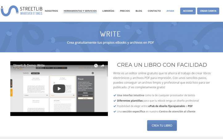 streetlib-crea ebook gratis