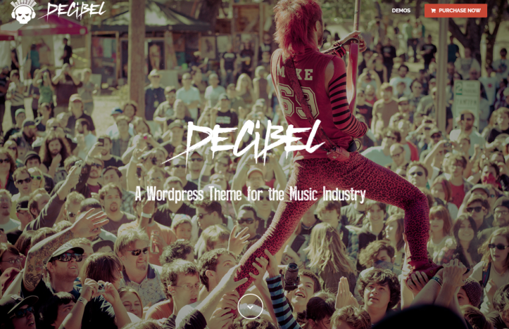 WordPress-Theme-Decibel
