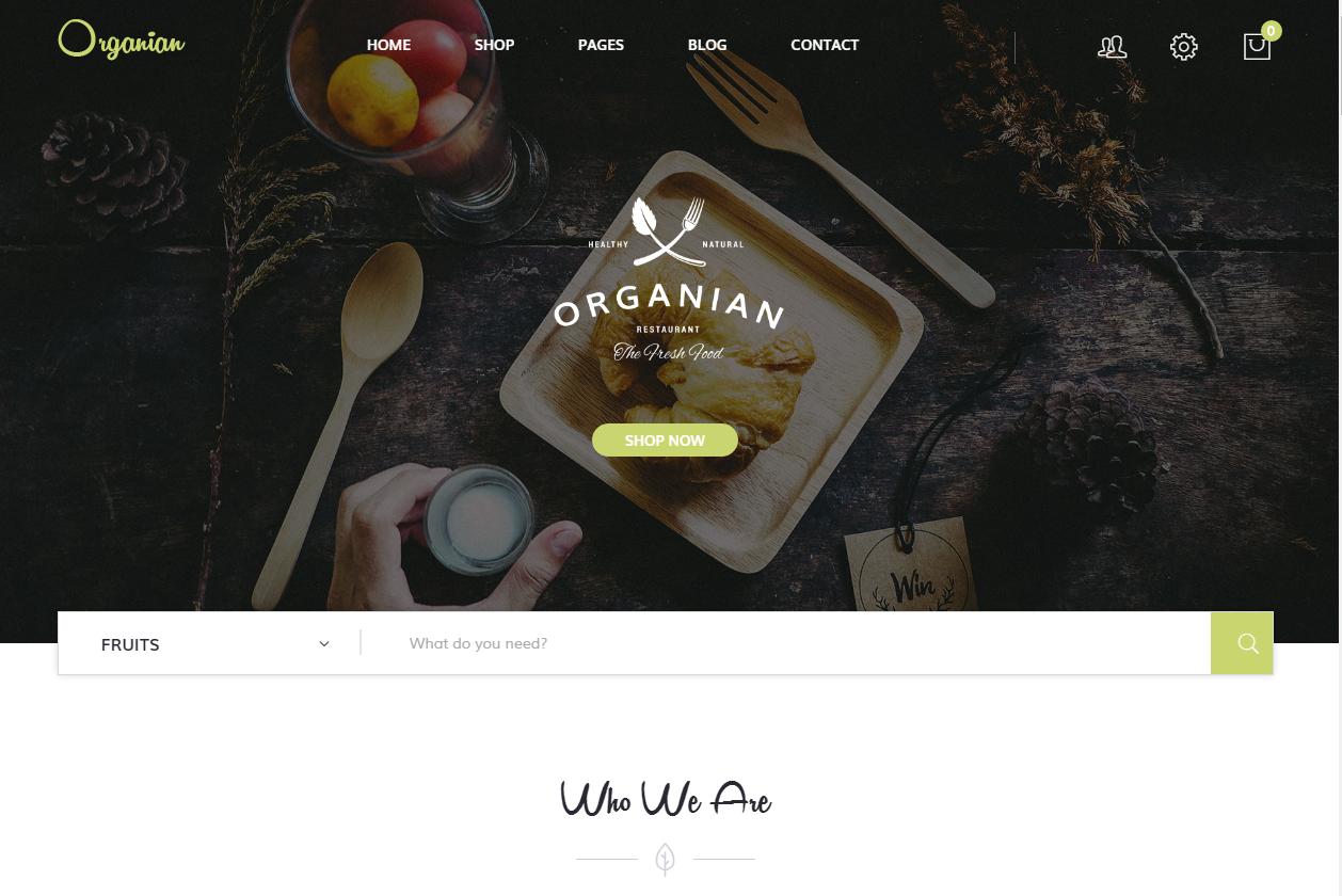 8 Plantillas WordPress para tu restaurante o blog de cocina – Una ...