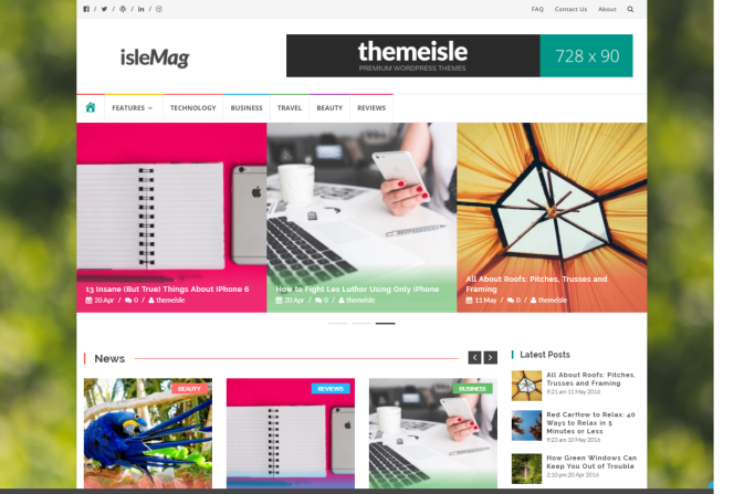 Islemag-FreeThemes WordPress