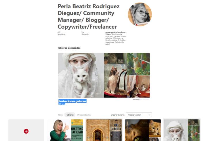 curación contenidos-Pinterest-Perla