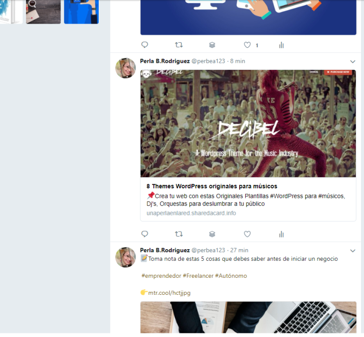 timeline Twitter-Anymage.io