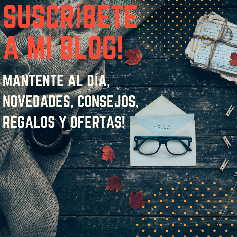 Suscríbete a mi blog!