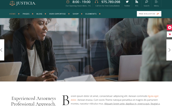 WordPress para abogados-marketing online para abogados