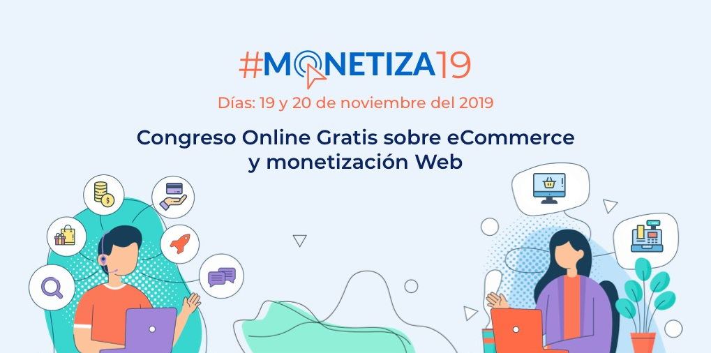 Congreso online gratuito #MONETIZA19
