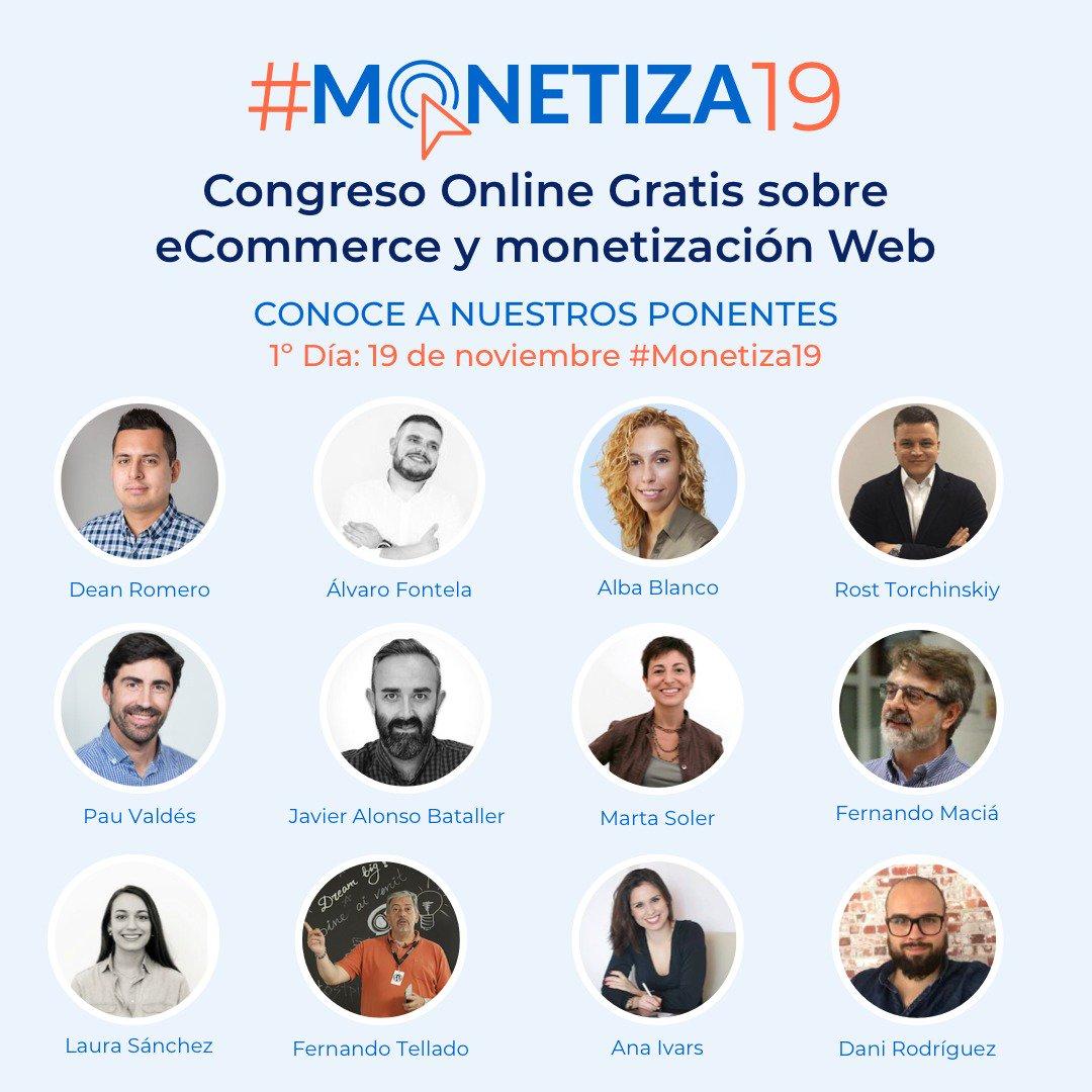 Ponentes Congreso #Monetiza19 1