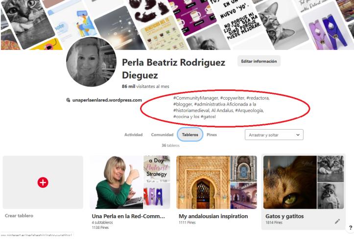 Optimiza tu perfil Pinterest-Utiliza Pinterest para tu SEO