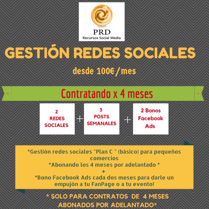 Gestión redes sociales Málaga