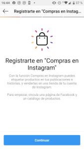 Como asociar tu catalogo de productos con Instagram